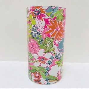 Lilly Pulitzer Target Glass Hurricane Candle Vase